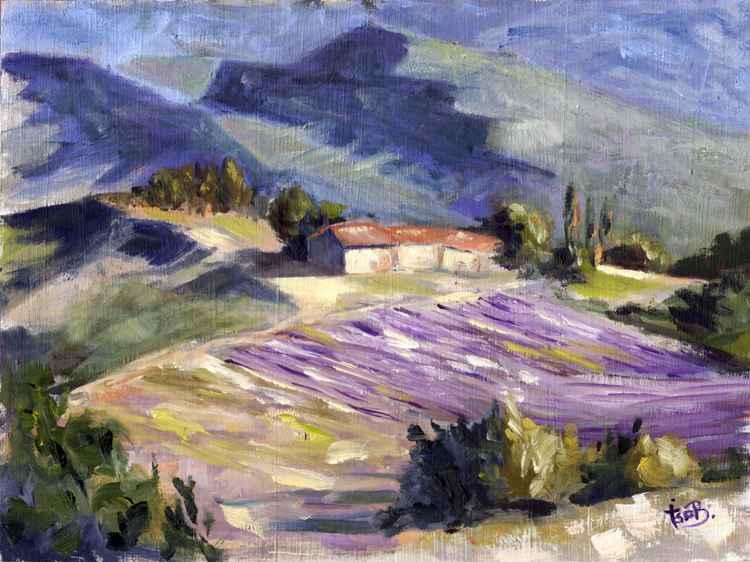 tableland above Sisteron
