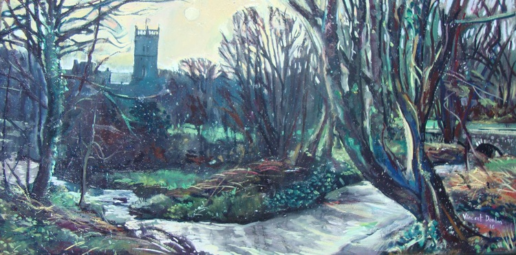Saint David's from the River Alun - Image 0