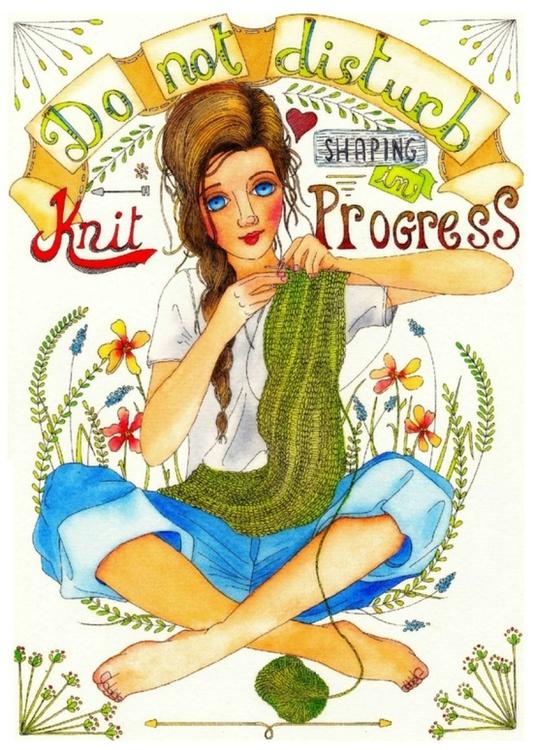 Knit in progress - Image 0
