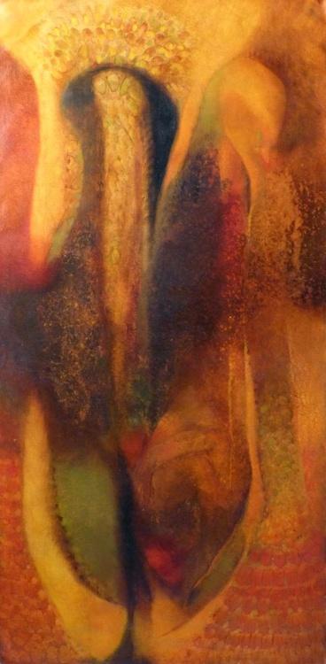 Metafigure #68, oil on canvas 120x60 cm - Image 0