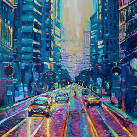 """Streets of San Francisco"" by Adriana Dziuba"