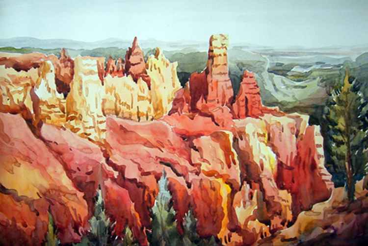 Beauty of Red Canyon -