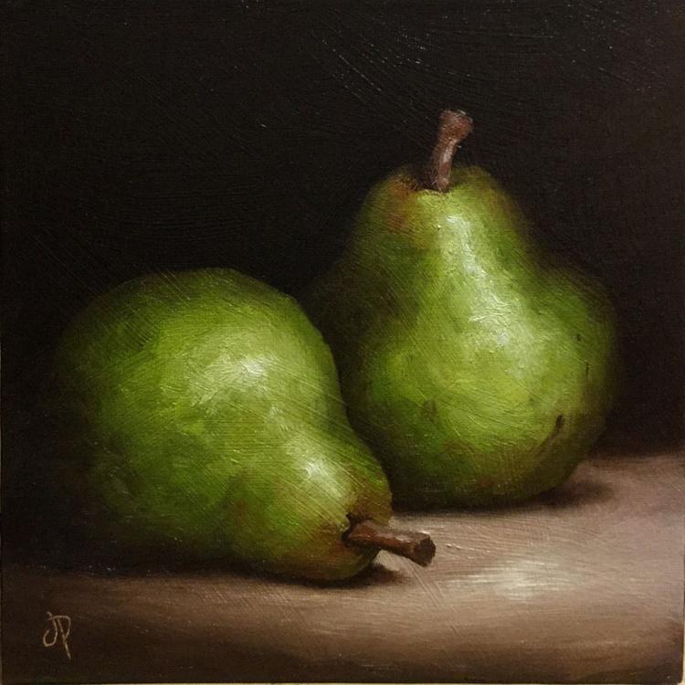 Pair of Comice Pears - Image 0