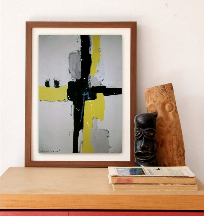 Yellow No 111, Abstract paper collection - Image 0