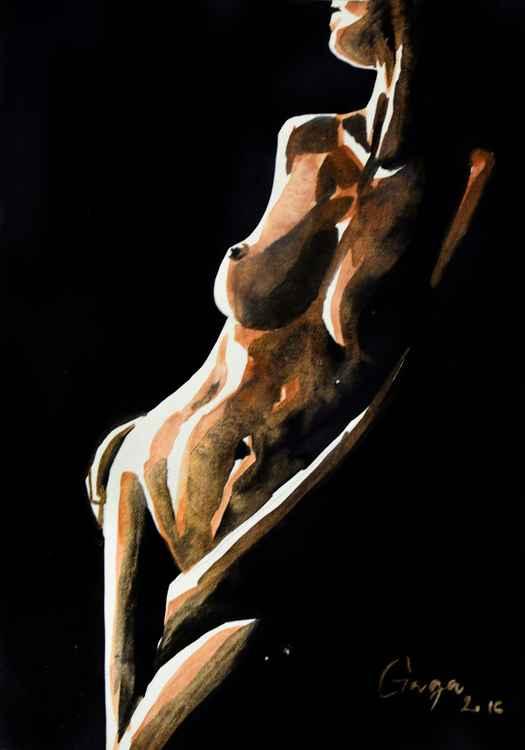 Brown Nude II -
