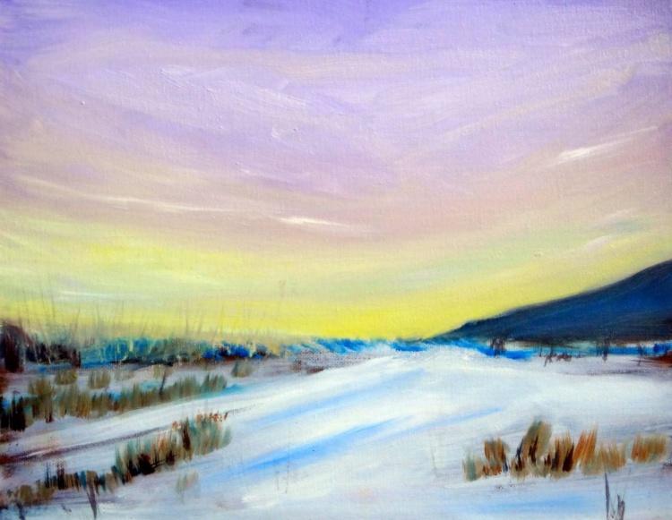 Winter Morning Sunrise - Image 0