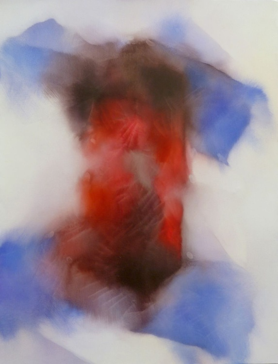 Insurrection 2, oil on canvas 116x89 - Image 0