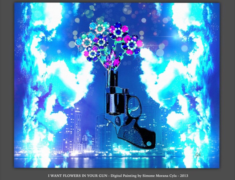 I want flowers in your gun - Image 0