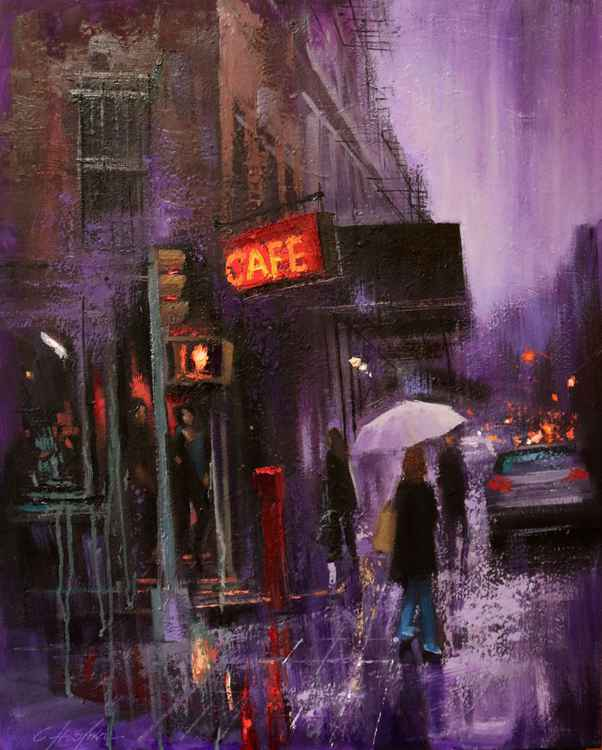 Village Cafe and Purple Rain -