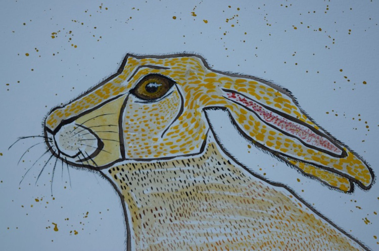 Watchful Hare - Image 0