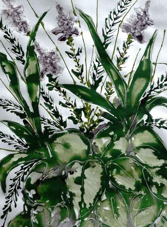 IKEBANA FLOWERS-ACRYLIC