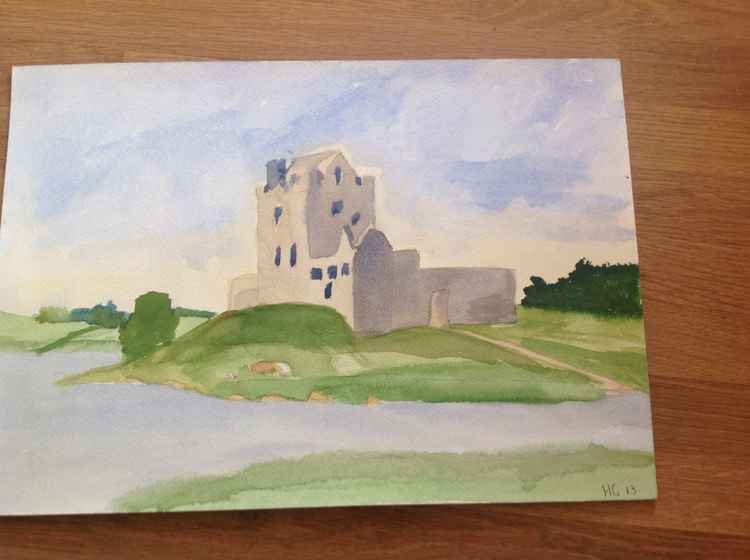 Irish castle -