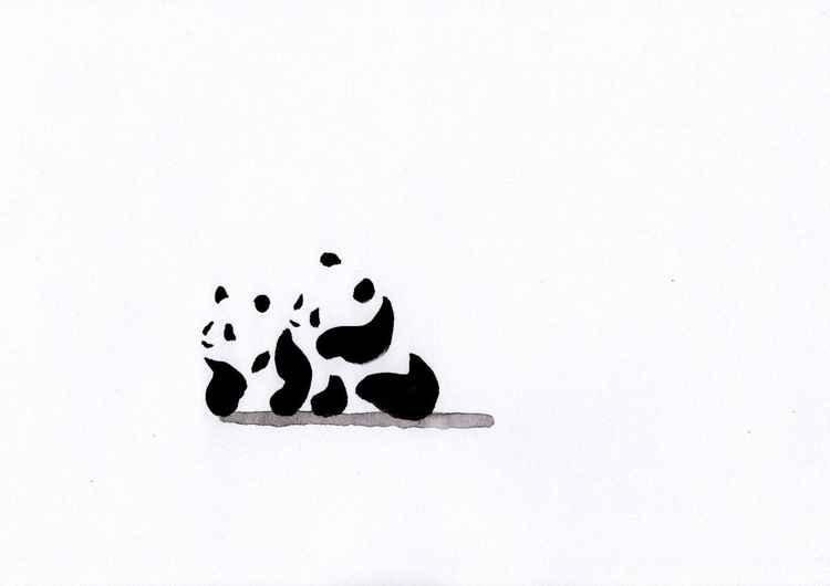 Two pandas 2130A