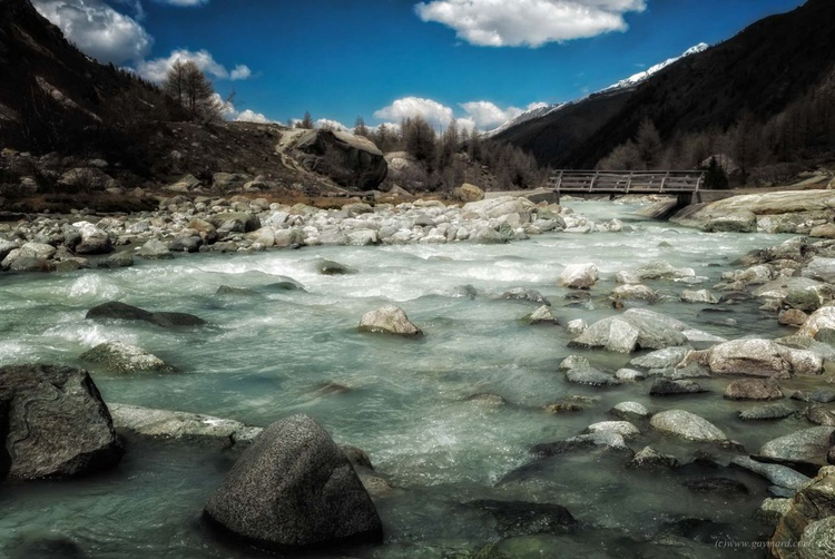The swiss landscape, the torrent - Image 0