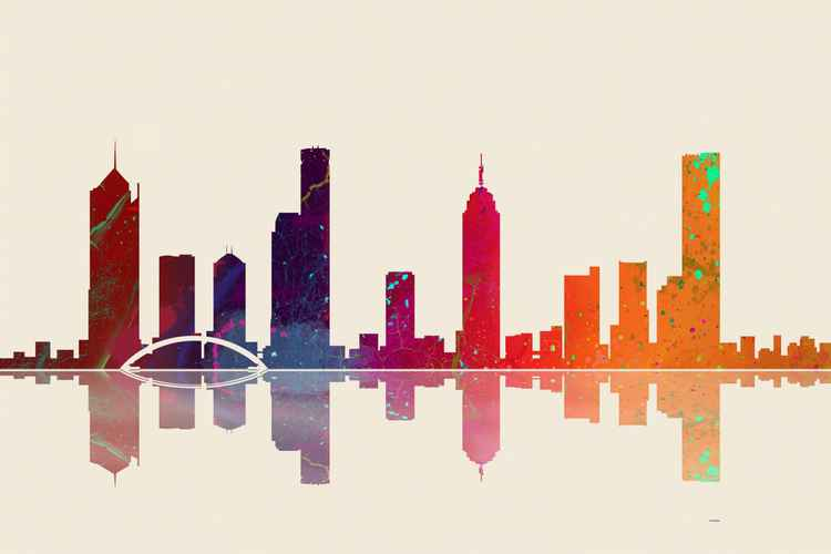 Melbourne Skyline 3 -