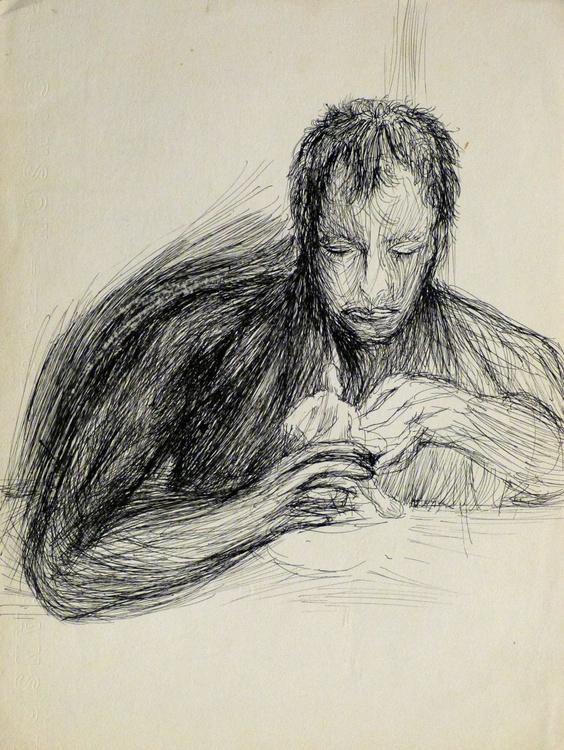 Portrait of Jean-Marc, 24x32 cm - Image 0