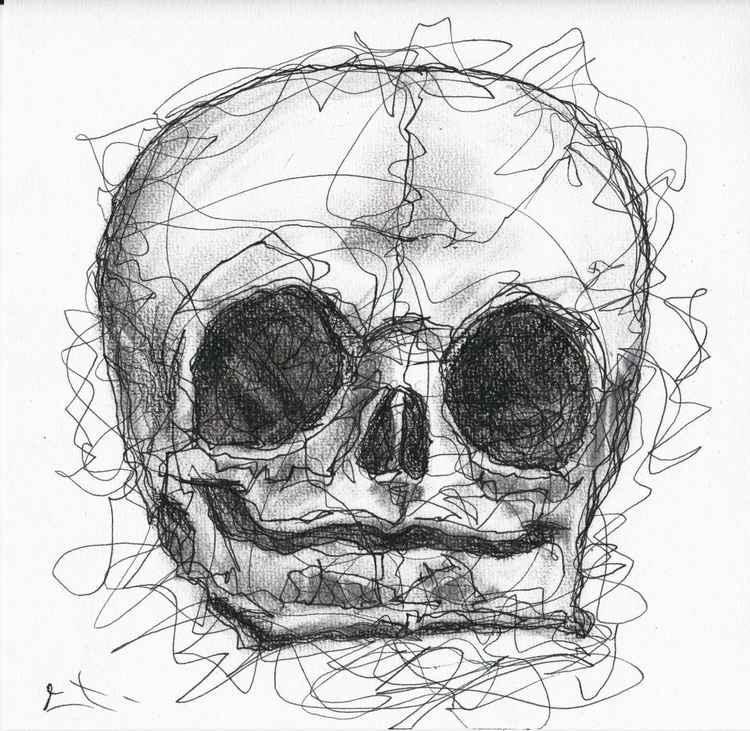 Etude Foetus Skull -