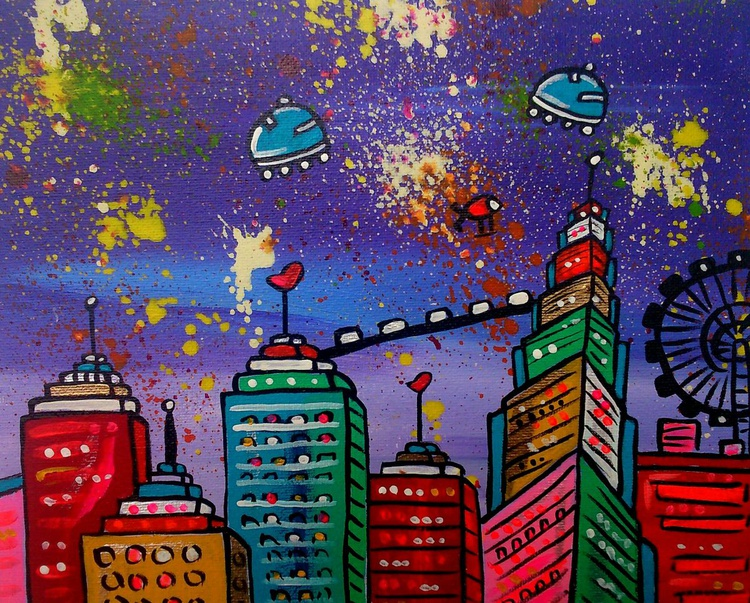 Space Scrapers City - Image 0