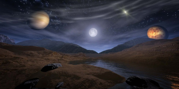 Under a starry night - Image 0