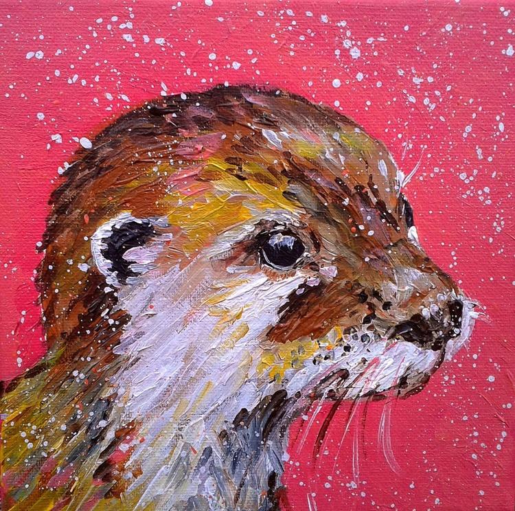 """Cute otter "" - Image 0"
