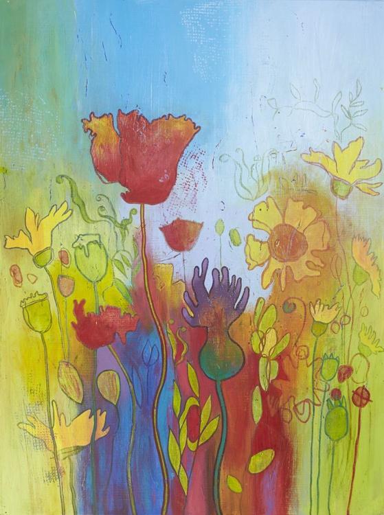 Large Wildflowers ix - Image 0