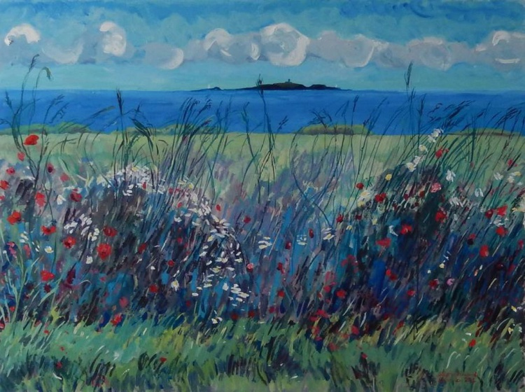 Wild Flowers And The May Island - Image 0