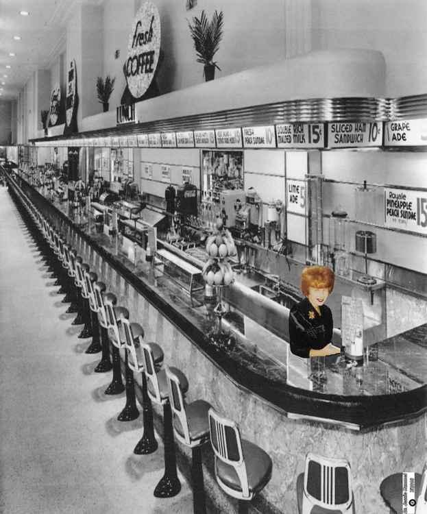 Saul's Diner cicra 1960 -