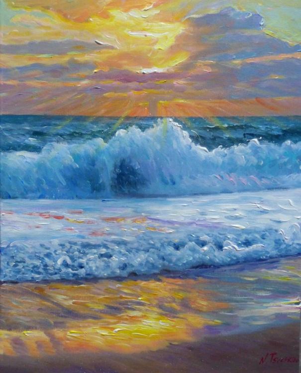 Sea Foam, 50x60 cm - Image 0