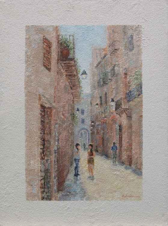 European city scene 2 -
