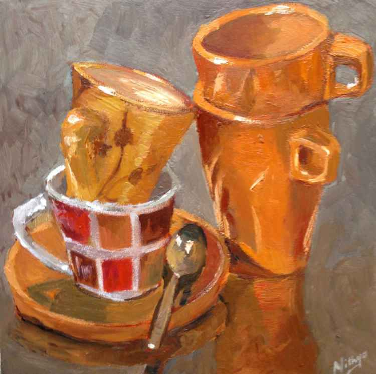 Cuppy! - Small Original Still Life -