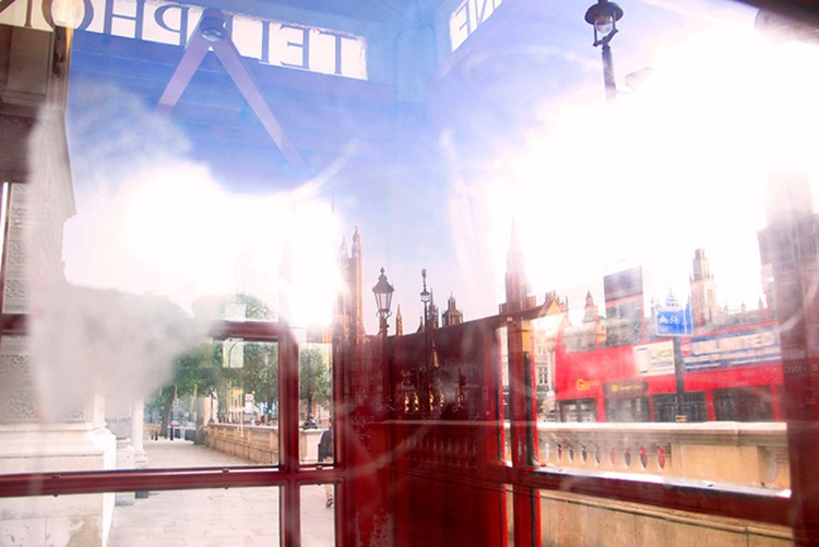 INSIDE THE TELEPHONE BOX (Limited edition  1/20) 12X8 - Image 0