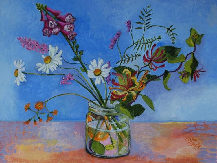 Blue wild flowers - Image 0