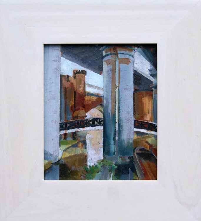 Castlefield 2 , Manchester framed -