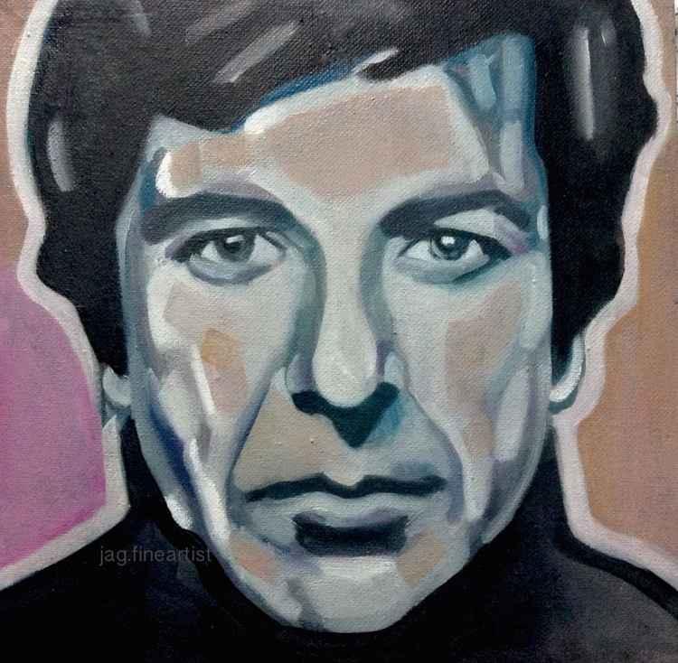 Leonard Cohen 'Small Study' -