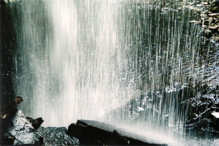 Behind The Waterfall - 1/25 - Unmounted (24x16in) - Image 0
