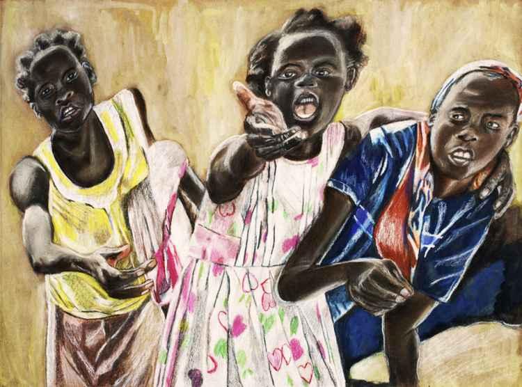Haitian Girls -