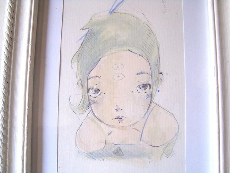 Green Girl - Image 0