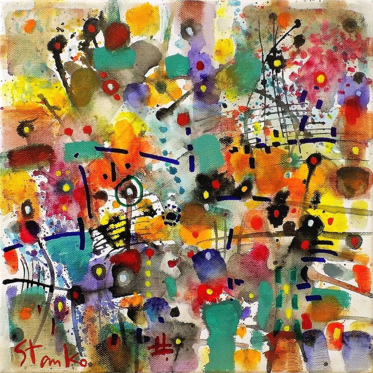 Abstract gardens(musical script)-I - Image 0