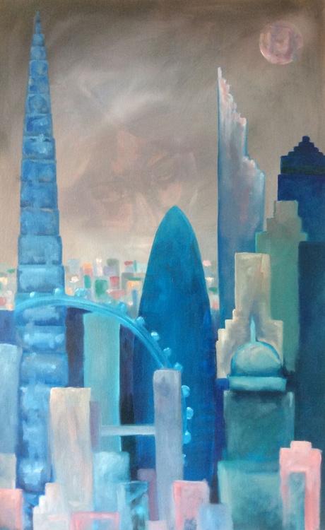 London city buildings - Image 0