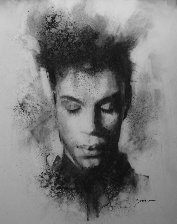 "Prince Tribute "" Contemplation"" - Image 0"
