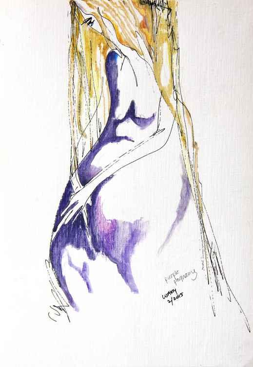 purple pregnancy -