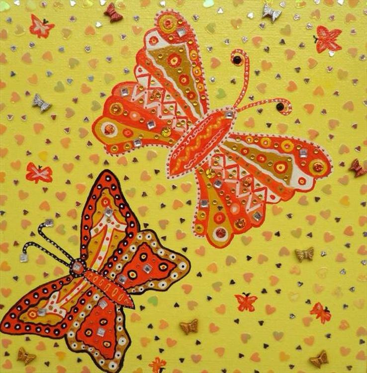 Yellow Butterflies - Image 0