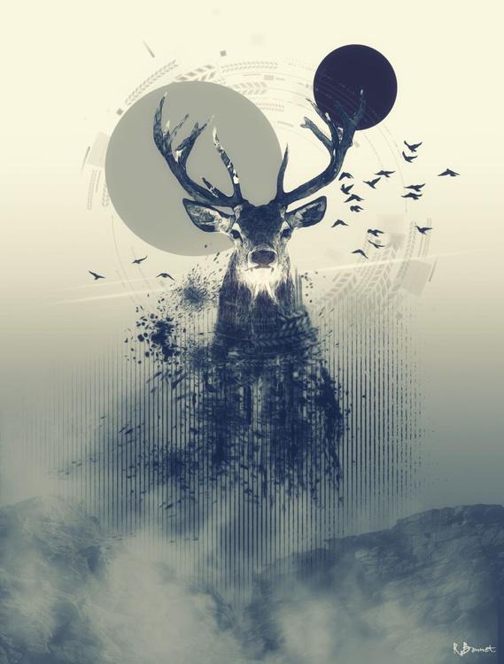 Deer Design - Limited Edition of 10 - Image 0