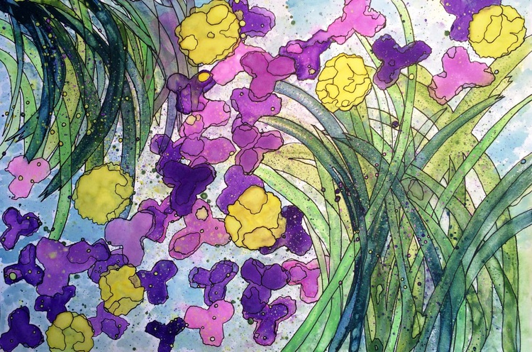 Buttercups and Violets - Image 0