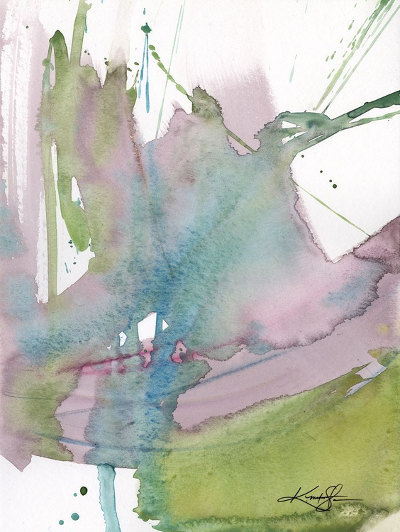 Ethereal Moments 2 - Abstract Watercolor Painting - Image 0
