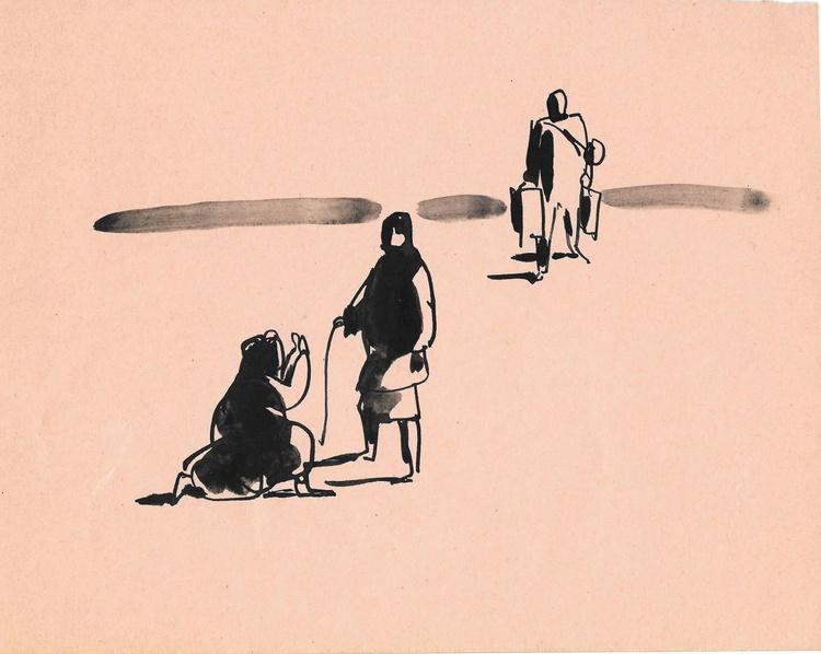 Traveller 1, 22x18 cm - Image 0