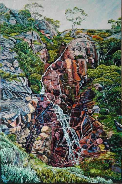 Upper Tumut River Falls -