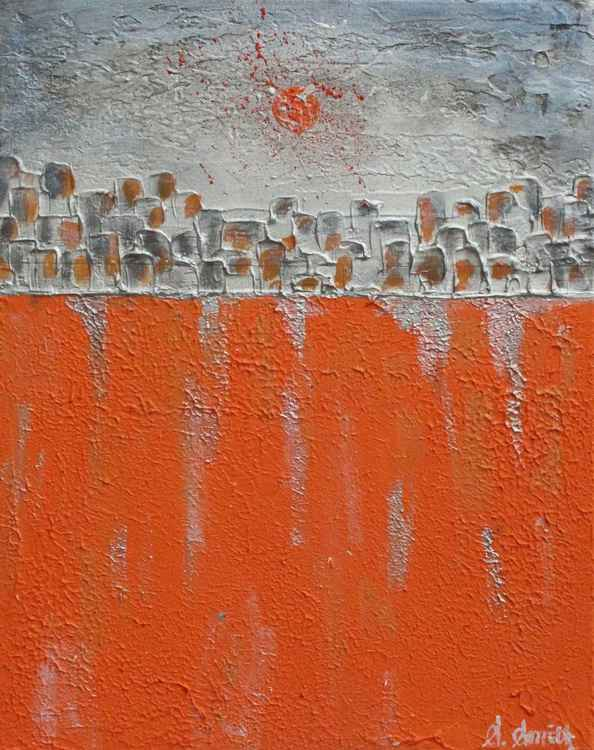 Orange Moon No.6 -