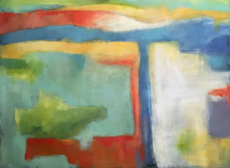 Sweet Soul Music ~ LARGE ABSTRACT 69 x 51 inches - Image 0