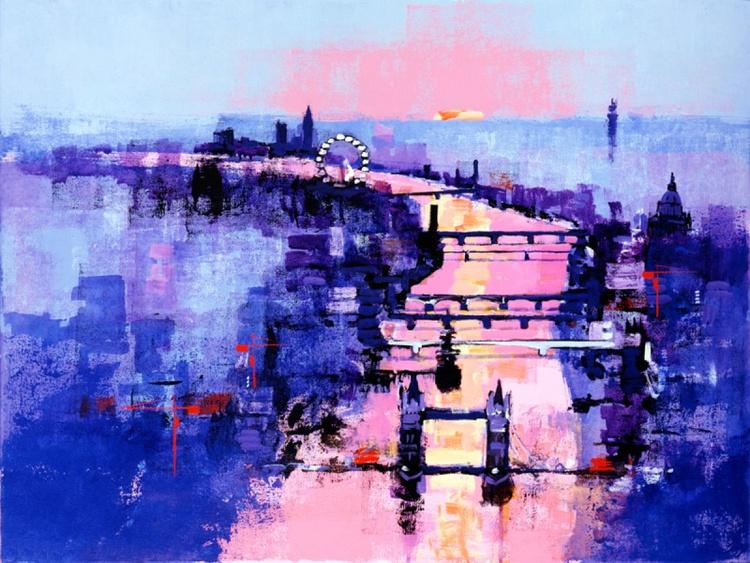 RIVER THAMES SUNSET - Image 0